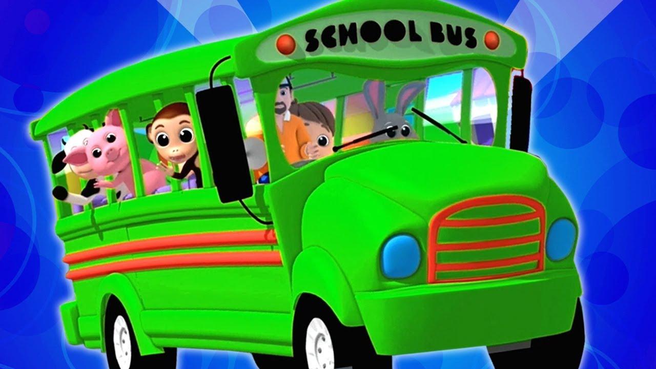 Roda No Onibus Desenho Animado Desenho Infantil Video Para