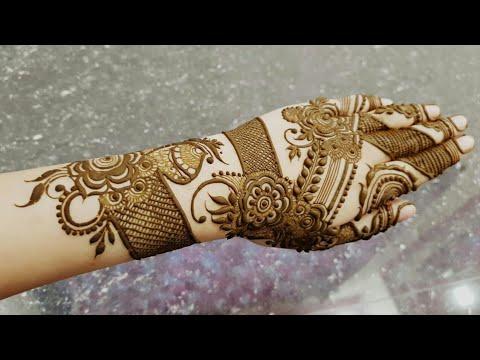 Ramazan Special Mehndi Design 5 2018 Heena Vahid Youtube
