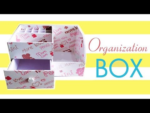 DIY Makeup Storage and Organization - DIY LIPSTICKS and MAKE UP ORGANIZER