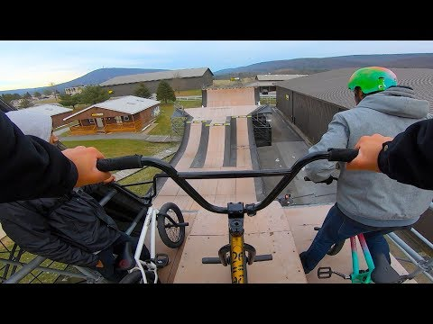 GoPro BMX: Woodward Camp Winter Escape