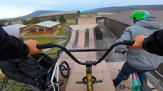 GoPro BMX: Woodward Camp Winter Escape