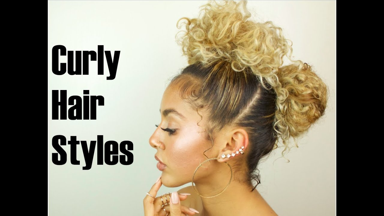 how to style curly hair curly hair styles 1897