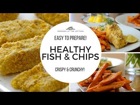 HEALTHY FISH & CHIPS | Oven Baked!