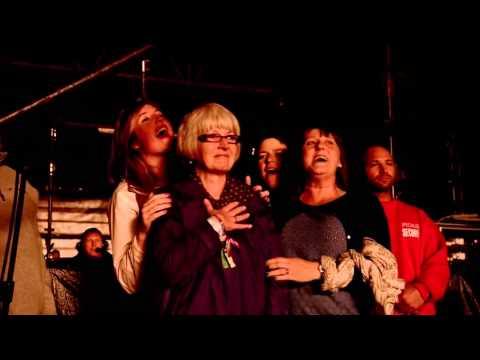 Arctic Monkeys crowd singing happy birthday to Alex's Mom Glastonbury 2013