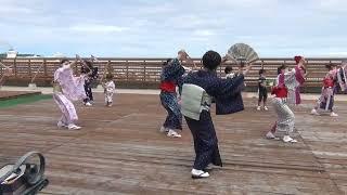 ウイングベイ小樽で日本舞踊体験 藤間流扇玉会画像
