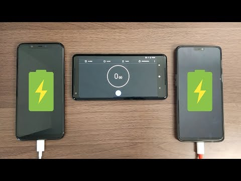 Xiaomi Mi 8 vs OnePlus 6: Battery Charge Test