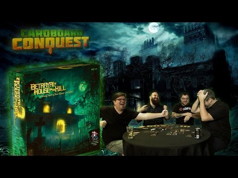 Cardboard Conquest - Full Playthrough of Betrayal at House on the Hill