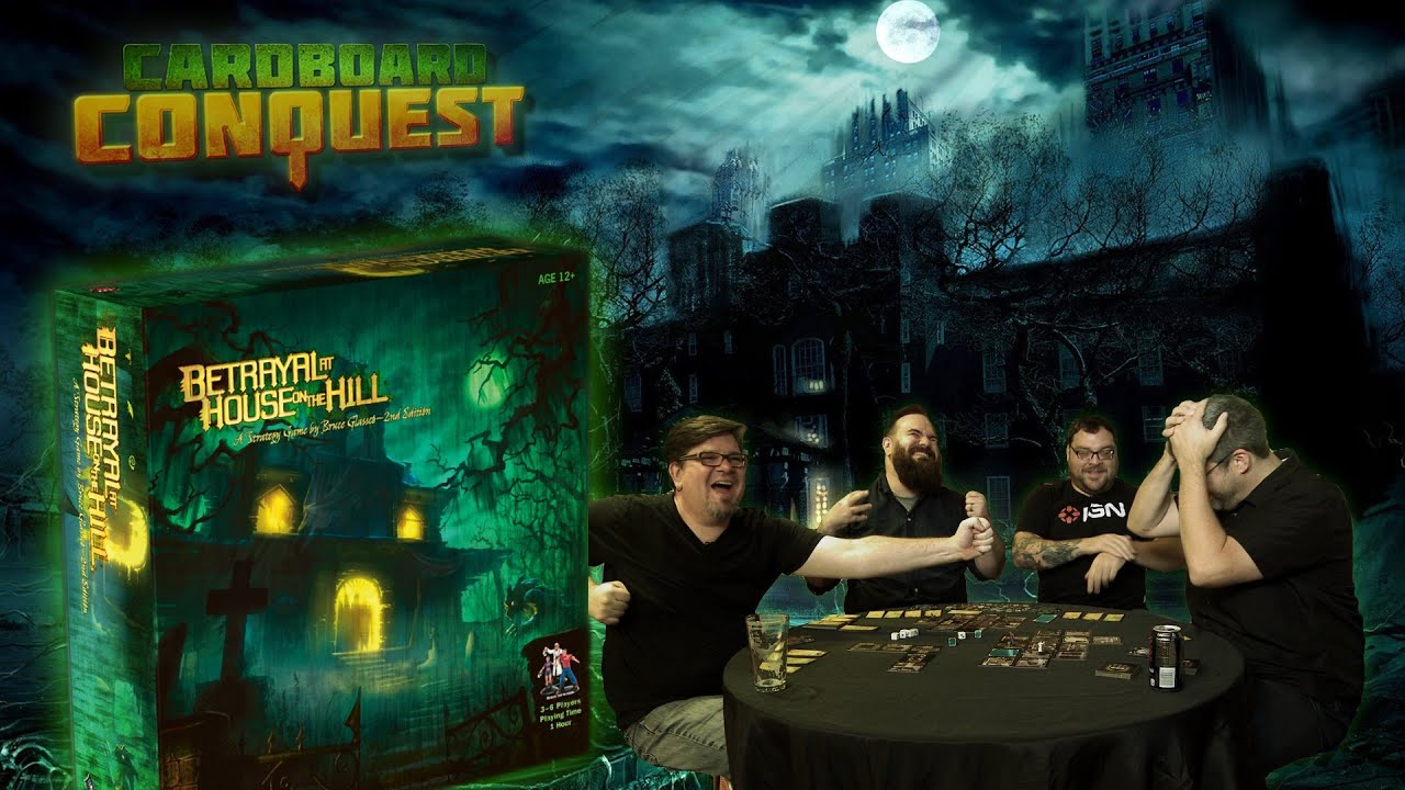Cardboard Conquest Full Playthrough Of Betrayal At House On The Hill