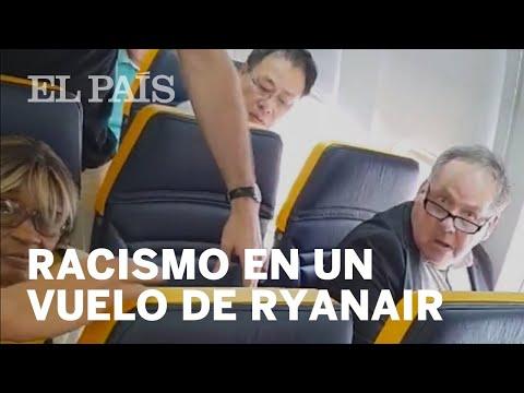 Recibe INSULTOS RACISTAS en un vuelo de Ryanair y le cambian de asiento   Mundo Global