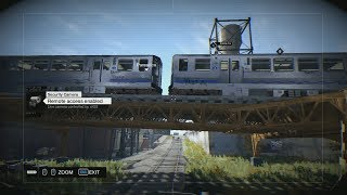 Watch Dogs - Train Glitch Collide