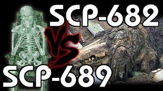 SCP-682 vs SCP-689 - Dziennik terminacji