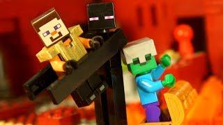НУБ против ПРО Мультфильм Лего Майнкрафт Лаки Блоки Троллинг Мультики Lego Minecraft Animation