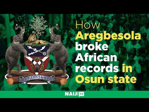 How Aregbesola broke African records in Osun state