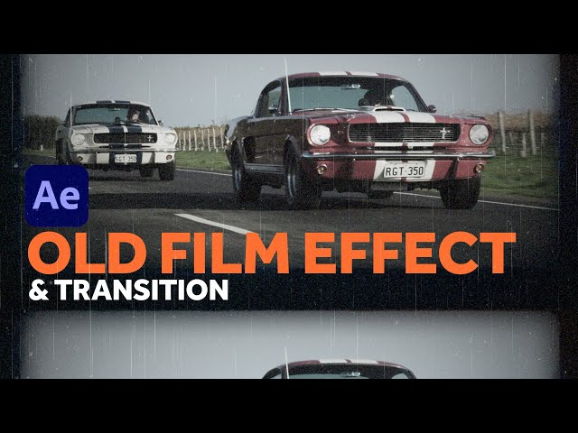 Custom Old Film Effect & Transition | After Effects Tutorial