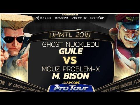 Ghost NuckleDu (Guile) vs MOUZ Problem-X (M. Bison) - DH Montreal 2018 Losers Finals - CPT 2018