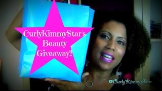 {CLOSED} CurlyKimmyStar's Beauty Giveaway!! Thumbnail