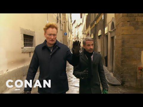 #ConanItaly Preview: Conan Speaks Italian  - CONAN on TBS