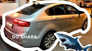 Gambar cover Cara Pasang Shark Fin Antenna Pada Kereta Anda (Prevé) DIY Shark Fin Antenna Installation Tutorial