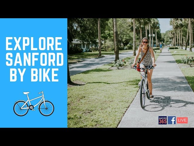 Bicycle Tour through Downtown Sanford - Part 1