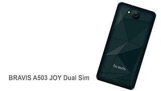 Достаем из коробки смартфон BRAVIS A503 JOY Dual Sim Black