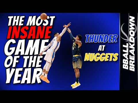 The Most INSANE GAME of the Year: Thunder At Nuggets