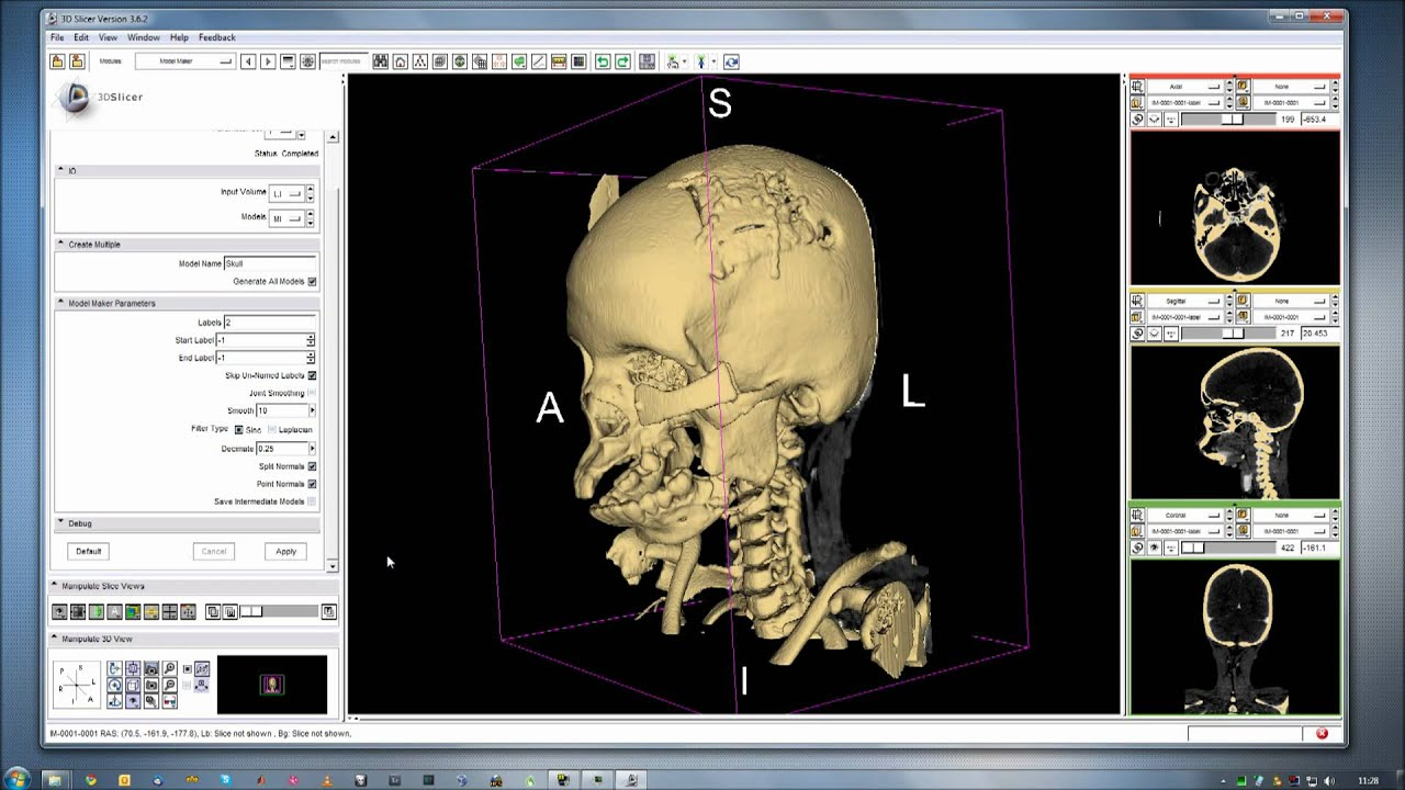 3d slicer ct modelling segmentation tutorial muted youtube for 3d model viewer