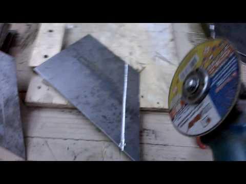 как согнуть лист металла 3мм без листогиба/how to bend metal sheet