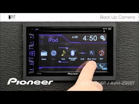 How To - Backup Camera and Picture Adjustment - Pioneer AVH-290BT, AVH-291BT, MVH-AV290BT, 190DVD