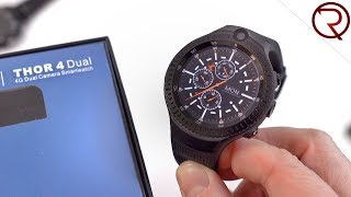 A Smartwatch with Two Cameras - Zeblaze Thor 4 Dual Unboxing and Hands On