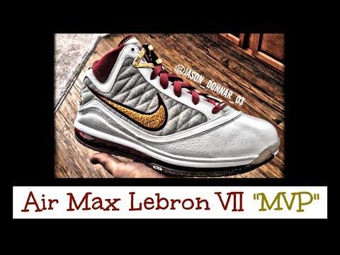 lowest price eeb41 34de4 Nike Air Max Lebron 7 VII MVP Review + On Feet (Lebron James) 2009 - 2010