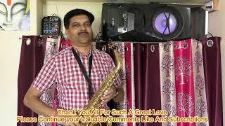 Tum Se Milna Bate Karna Saxophone Cover Dr C B Savita
