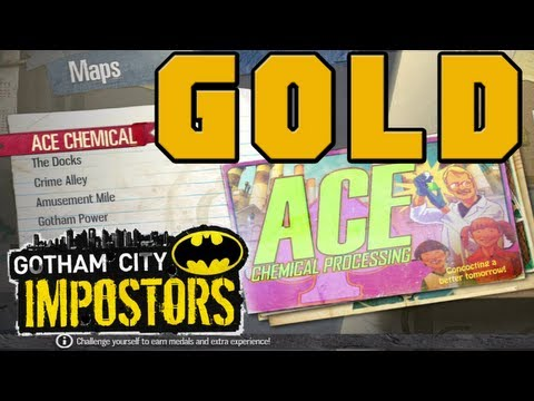 ★Gotham City Imposters Gold Challenges Ace Chemical Expert, Intermediate, Basic