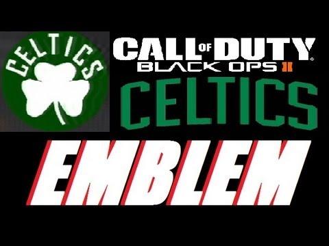 Black Ops 2- How to Make the Boston Celtics Emblem