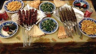 How To Make Lebanese Bbq Meat & Kafta -  كفتة ولحمة مشوية عالفحم على الطريقة اللبنانية