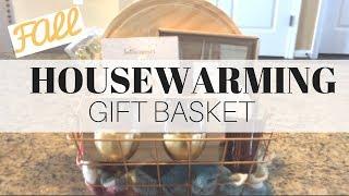 Fall Housewarming Gift Basket On A Budget // Target Dollar Spot // 2017