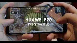 Huawei P20 PUBG Sample