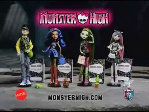 Mattel - Monster High de Rochell Venus Rebeca y Jackson 2012 Videos De Viajes