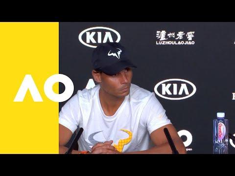Rafael Nadal press conference (1R)   Australian Open 2019