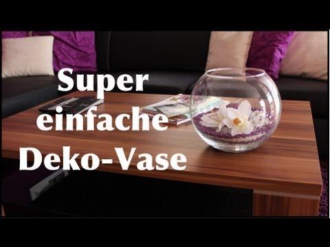 Super einfache Deko-Vase