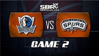 NBA Picks: Dallas Mavericks vs. San Antonio Spurs Game 2