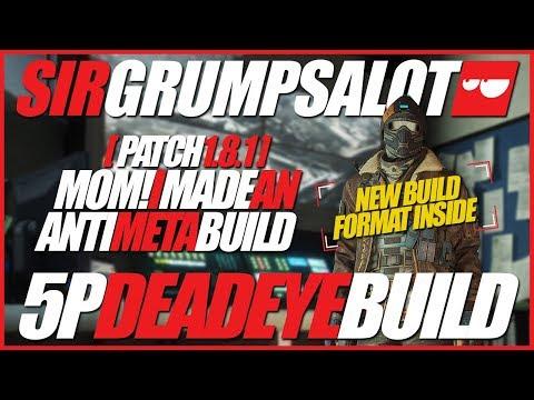 Yo mom! I did Deadeye anti meta build! | Deadeye & Barrets | Solo queue gameplay - 35K score