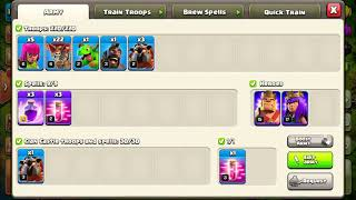 Clash of clans: Tamil Bloodline vs Biiam we GanG war attack #1