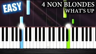 4 Non Blondes What 39 s Up - EASY Piano Tutorial by PlutaX.mp3