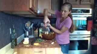 Quinoa & Chick Pea Salad