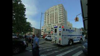 Raw: 1 Dead, 6 Hurt in NYC Hospital Shooting