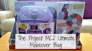 Opening the Project MC2 Ultimate Makeover Bag.