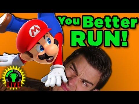MARIO'S NEW GAME!   Super Mario Run
