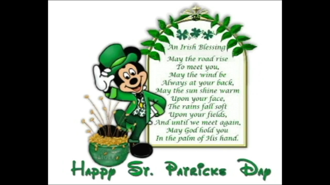 Happy St Patrick S Day Animated Wishes Greetings Sms Quotes E