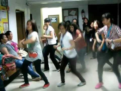 Gangnam sa FAME Building. :)