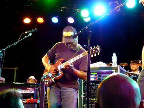 Ray White with Zappa at the Roxy dec 13th